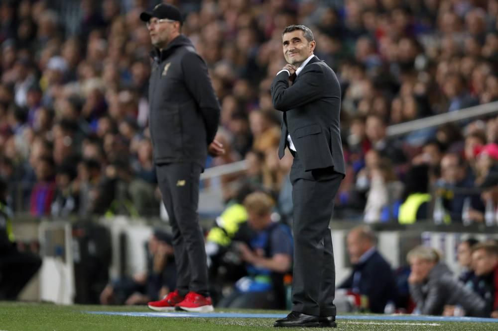 """برشلونة يضع فصل النهاية لولاية فالفيردي بـ""""شكرا وحظ سعيد"""""""