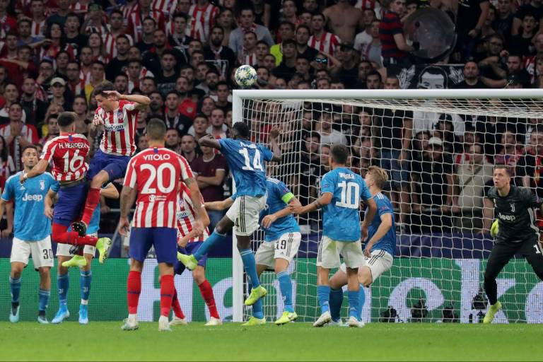أتلتيكو مدريد يقتنص تعادلًا مثيراً من يوفنتوس في أبطال أوروبا