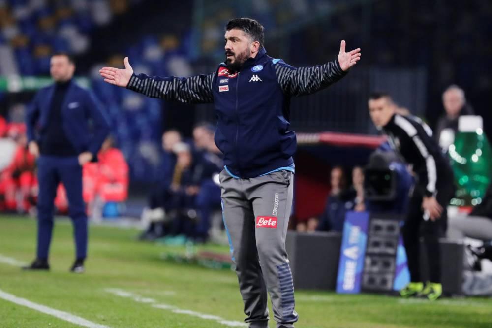 نابولي يخسر أمام بارما في أول ظهور لغاتوزو