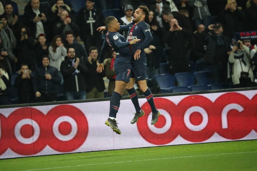 باريس سان جيرمان يقسو على مونبليه 5-1