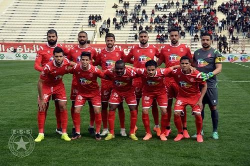 قائمة النجم الساحلي التونسي لمواجهة الوداد