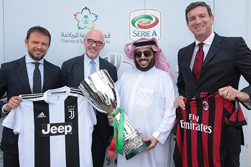 """""""بي إن سبورتس"""" تطالب إيطاليا بإعادة النظر في إقامة كأس السوبر بالسعودية"""