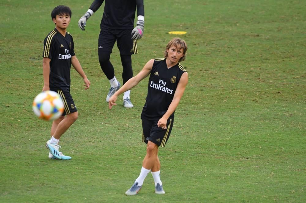 إصابة عضلية تبعد لوكا مودريتش عن ريال مدريد