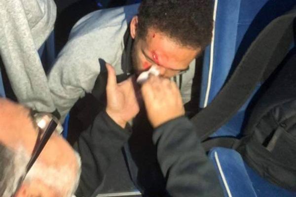 جمهور الترجي يعتدي على حافلة الأهلي المصري