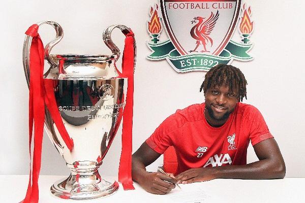 البلجيكي أوريغي يمدد عقده مع ليفربول لأمد طويل