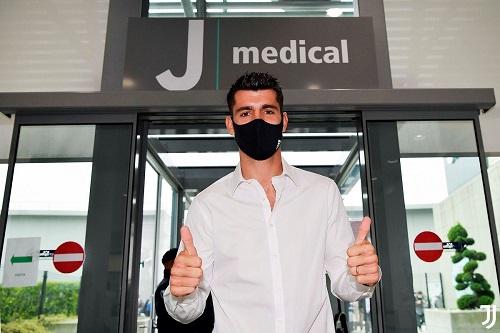 موراتا يخضع للكشف الطبي قبل انتقاله ليوفنتوس