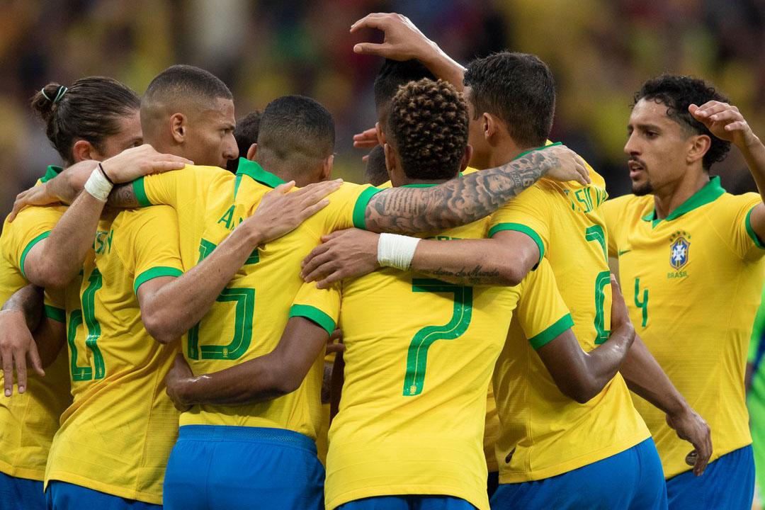 البرازيل تتدرب في ساو باولو استعددا للكوبا