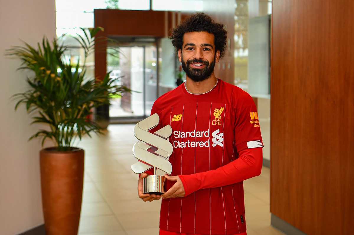 صلاح أفضل لاعب في ليفربول خلال شهر غشت