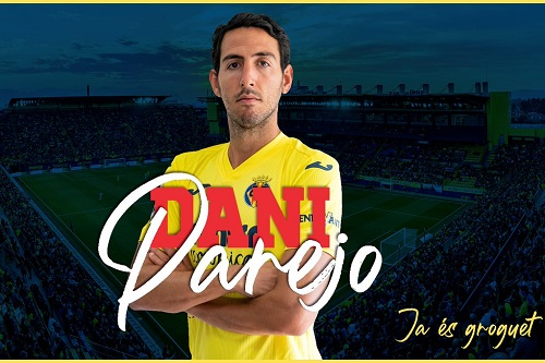 فياريال الإسباني يعلن ضم اللاعب داني باريخو