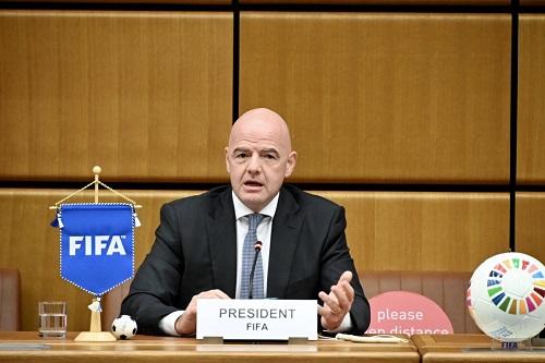 """السويسري إنفانتينو رئيس """"فيفا"""" يتعهد بعدم تكرار وقائع الفساد """"أبدا"""""""