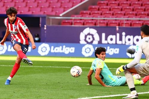 سيميوني يجهز البرتغالي فيلكس لموقعة ديربي مدريد أمام الريال
