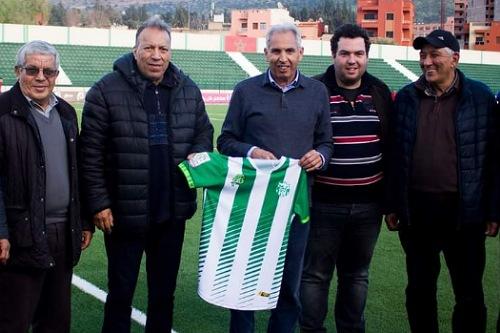 مصطفى العسري مدربا جديدا لرجاء بني ملال