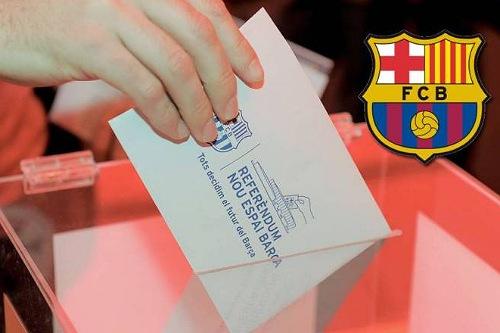برشلونة يجري انتخابات في منتصف الموسم لأول مرة منذ 1989