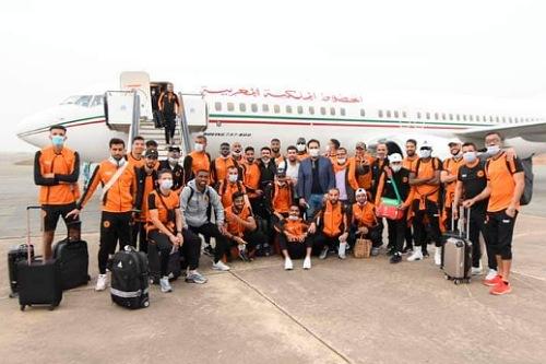 بركان يختم استعداداته بالمغرب وينتقل إلى الجزائر بطائرة خاصة لمواجهة القبائل