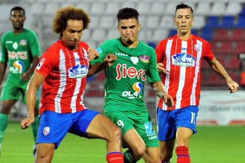 تشكيلة المغرب التطواني وضيفه الرجاء الرياضي