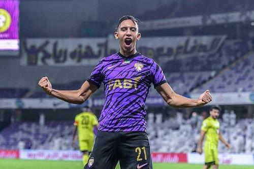 رحيمي يسجل أول أهدافه رفقة العين الإماراتي
