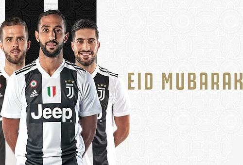 """يوفنتوس وبرشلونة وليفربول وأندية عالمية تهنئ المسلمين  بـ""""الأضحى"""" ونجوم الكرة يباركون العيد"""