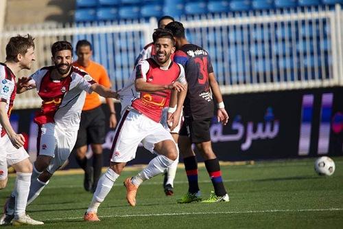 بركاوي وفوزير يهزان شباك المحمدي ويقودان الرائد للفوز على أبها بثلاثية
