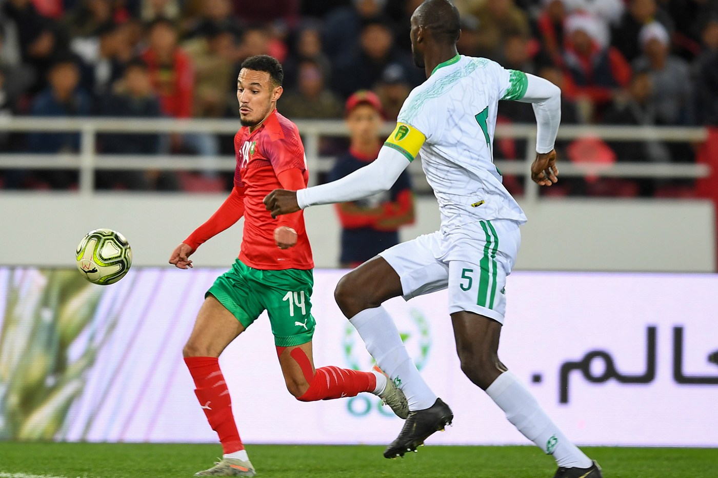 """موريتانيا تهزم إفريقيا الوسطى وتزاحم """"الأسود"""""""