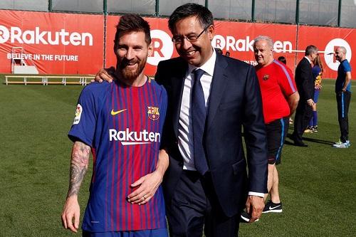 بارتوميو: ليس هناك شك في استمرار ميسي مع برشلونة