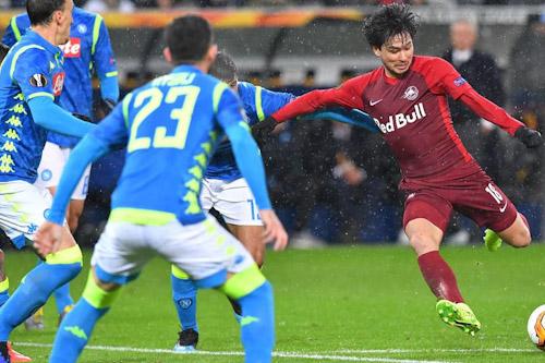 نابولي يتأهل لربع نهائي الدوري الأوروبي