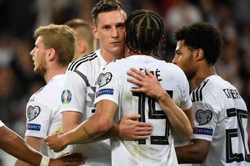 ألمانيا تلقن إستونيا درسا قاسيا في فنون الكرة وتفوز بثمانية أهداف نظيفة
