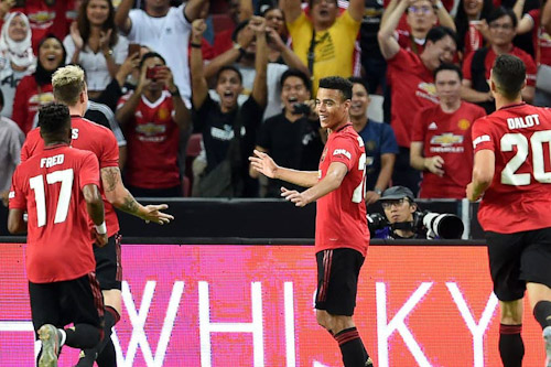يونايتد يهزم إنتر ميلان في الكأس الدولية للأبطال