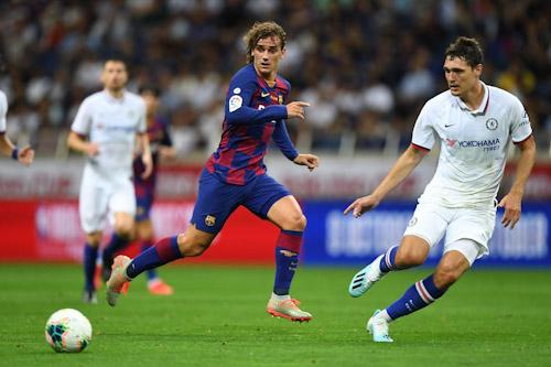 برشلونة يسقط في أولى تجاربه الودية أمام تشيلسي في اليابان