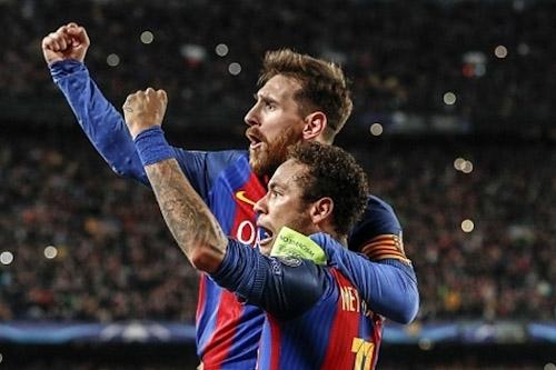 ميسي يتدخل في صراع الريال-برشلونة على نيمار
