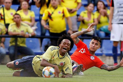 اعتقال 12 مشجعا عقب ودية كولومبيا وتشيلي في إسبانيا
