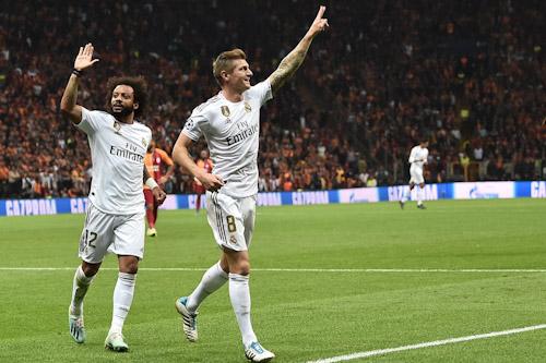 ريال مدريد يحقق فوزه الأول وسان جيرمان يضرب بقوة في دوري الأبطال