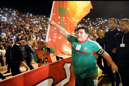 لقجع يعزي في وفاة الأسطورة دييغو مارادونا