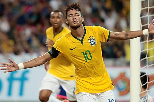 نيمار: لا أحد يستطيع إيقاف البرازيل على أرضها