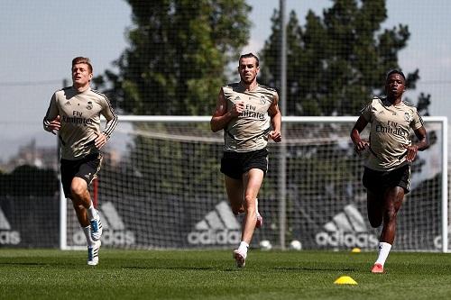 غيابان عن التدريب الأسبوعي الأخير لريال مدريد