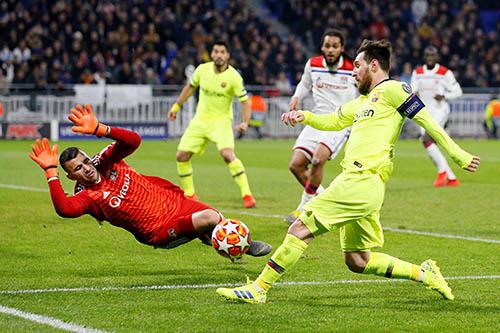 5 خلاصات لبرشلونة عقب التعادل السلبي مع ليون في دوري الأبطال