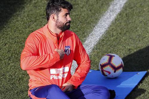 كوستا يرفض المشاركة في تدريبات أتلتيكو مدريد
