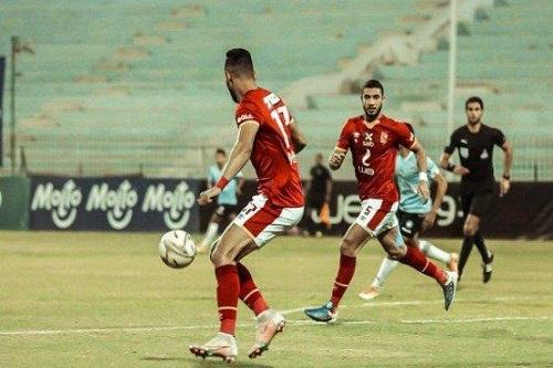 الأهلي يعاقب لاعبيه بعد الخسارة من المحلة