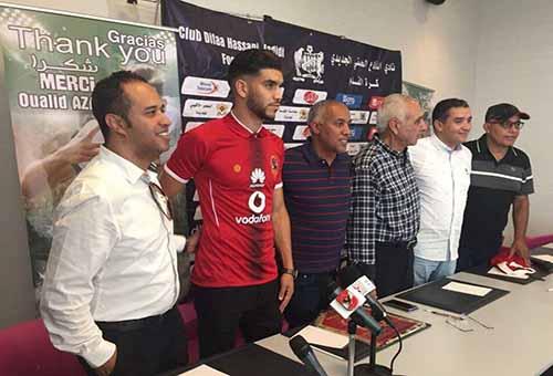الأهلي يحدد موعد وصول أزارو إلى مصر