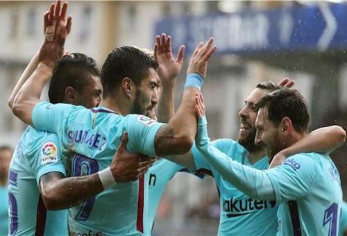 توقعات بإراحة نجوم برشلونة أمام سيلتا فيغو