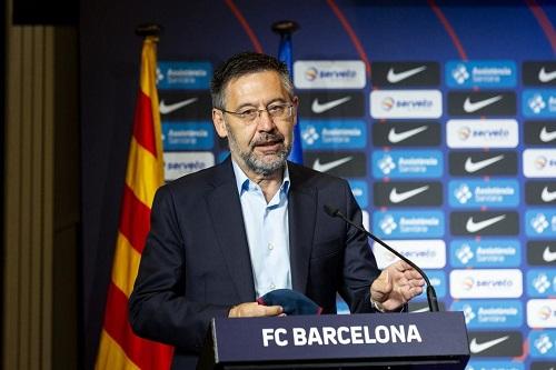 رئيس برشلونة السابق يقدر تأثير كوفيد على الموسم الماضي بـ 225 مليون يورو