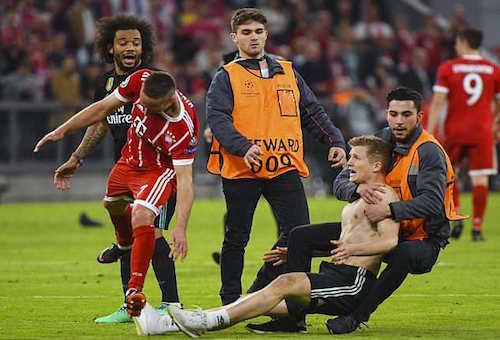 اليويفا يدين سلوك جماهير بايرن ميونخ أمام ريال مدريد