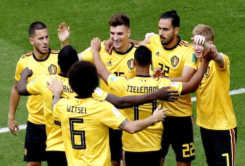 بلجيكا تفوز على إنجلترا بهدفين وتحرز المركز الثالث في كأس العالم