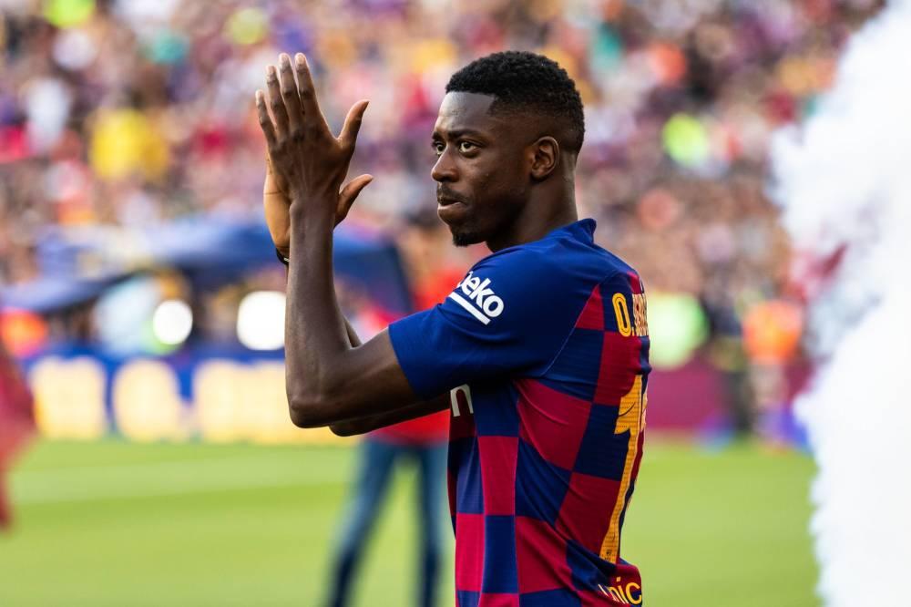 بعد ميسي وسواريز.. برشلونة يعلن غياب ديمبيلي 5 أسابيع للإصابة