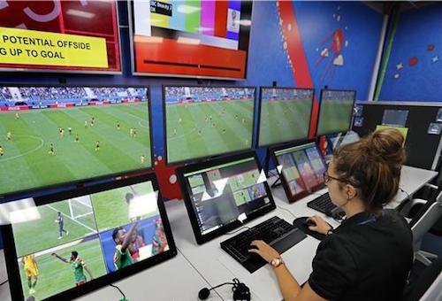 مونديال روسيا تحت رقابة حكم الفيديو