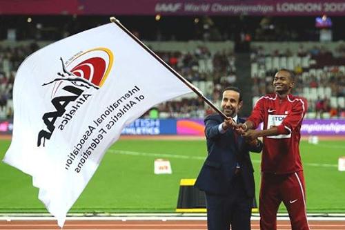 1998 رياضيا يؤكدون مشاركتهم في بطولة العالم لألعاب القوى
