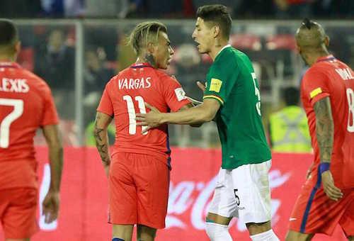 """لاعبو بوليفيا: """"العدالة الإلهية"""" سبب عدم تأهل تشيلي للمونديال"""