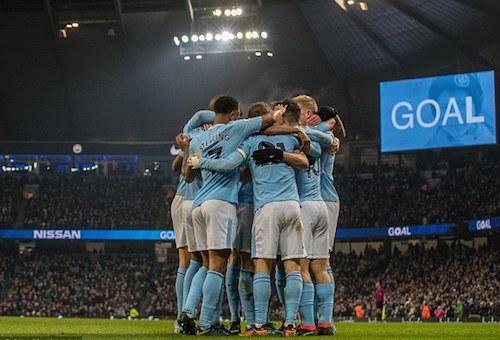 مانشستر سيتي ينضم إلى قائمة أكبر 5 أندية في أوروبا