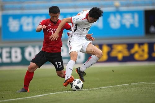 "دايغو وسانغمو يتعادلان في الدوري ""الكوري"""
