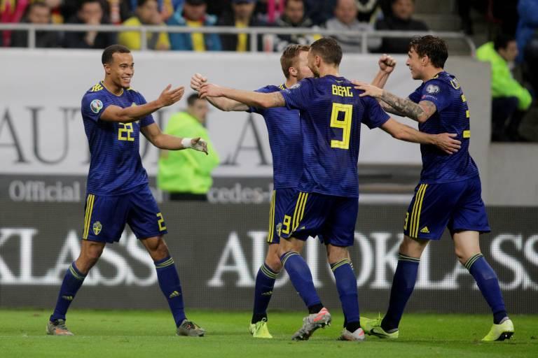 السويد تهزم رومانيا وتتأهل ليورو 2020