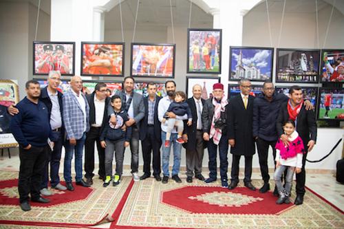مصورون مغاربة يعيدون تركيب مشاهد المونديال